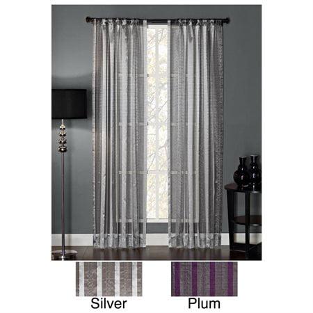 Glitter Curtain Panel