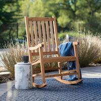 Belham Living Irwin Oak Rocking Chair