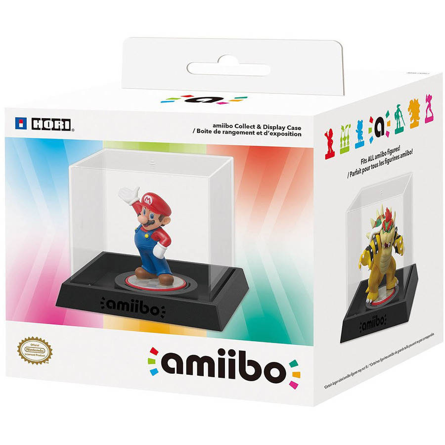 HORI amiibo Collect and Display Case for Nintendo amiibo Figures