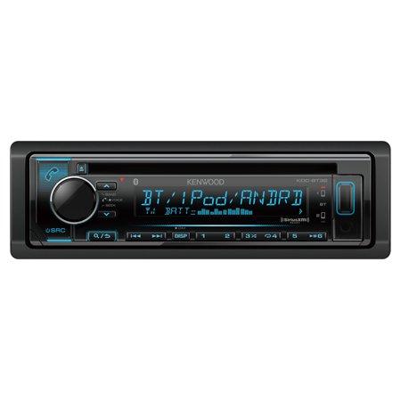 Kenwood KDCBT32 In Dash Car Audio CD Bluetooth Receiver (Certified Refurbished)