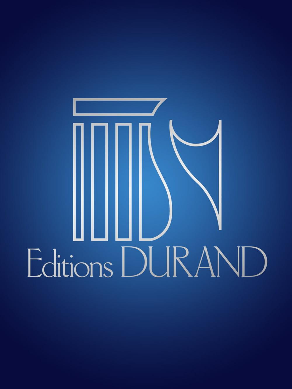 Editions Durand Etudes de peaux No. 1: Et in terra pax hominibus (Snare Drum) Editions... by Editions Durand