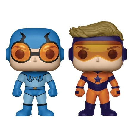 Pop Booster Gold and Blue Beetle Vinyl Figure 2 Pack (Other)