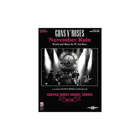 Cherry Lane Guns N' Roses: November Rain (Sheet -