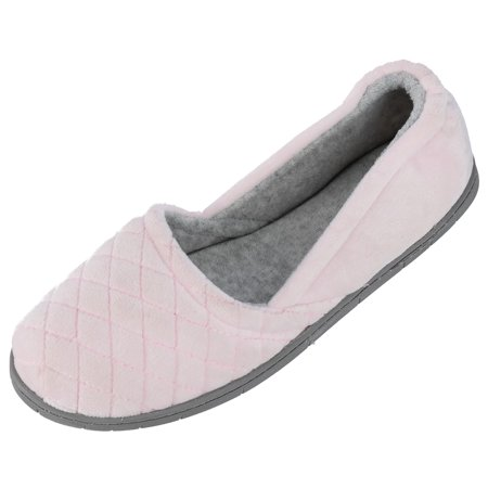 95d5eeea768f Dearfoams Women s Velour Espadrille Slippers with Microfiber Insole - image  3 ...