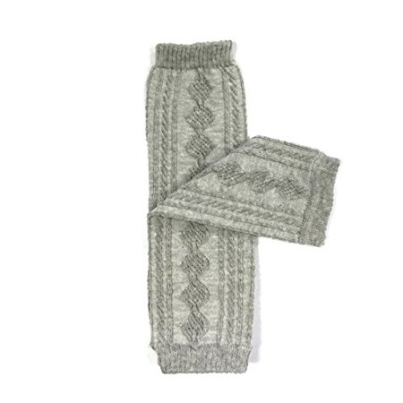 Wrapables Animals and Fun Colorful Baby Leg Warmers, Argyle Gray