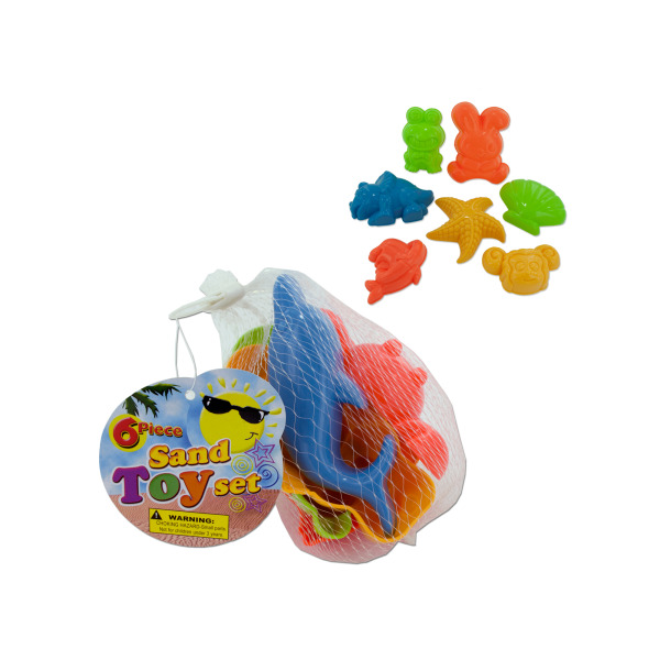 Toy Sand Molds Set (Pack Of 24)