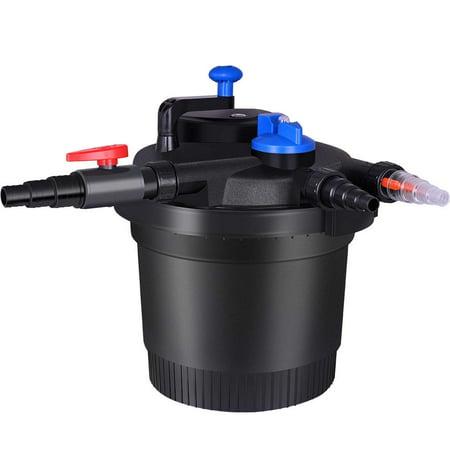 - VIVOHOME 20L Pressure Bio Pond Filter with UV Sterilizer Light CPF-6000