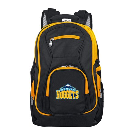NBA Denver Nuggets Premium Laptop Backpack with Colored