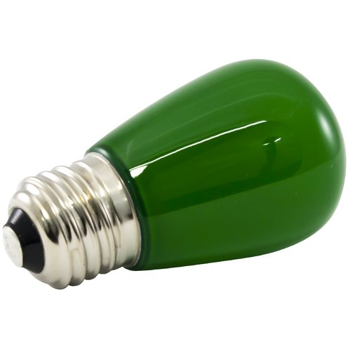 American Lighting LLC 1.4W Green Frosted 120-Volt LED Light Bulb (Set of 25)