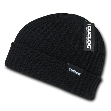 Cuglog Beanies Beany For Men Women Sailor Cuffed Cable Rib Double Knit Skull Caps Hats Warm Winter (Sailor Caps For Sale)