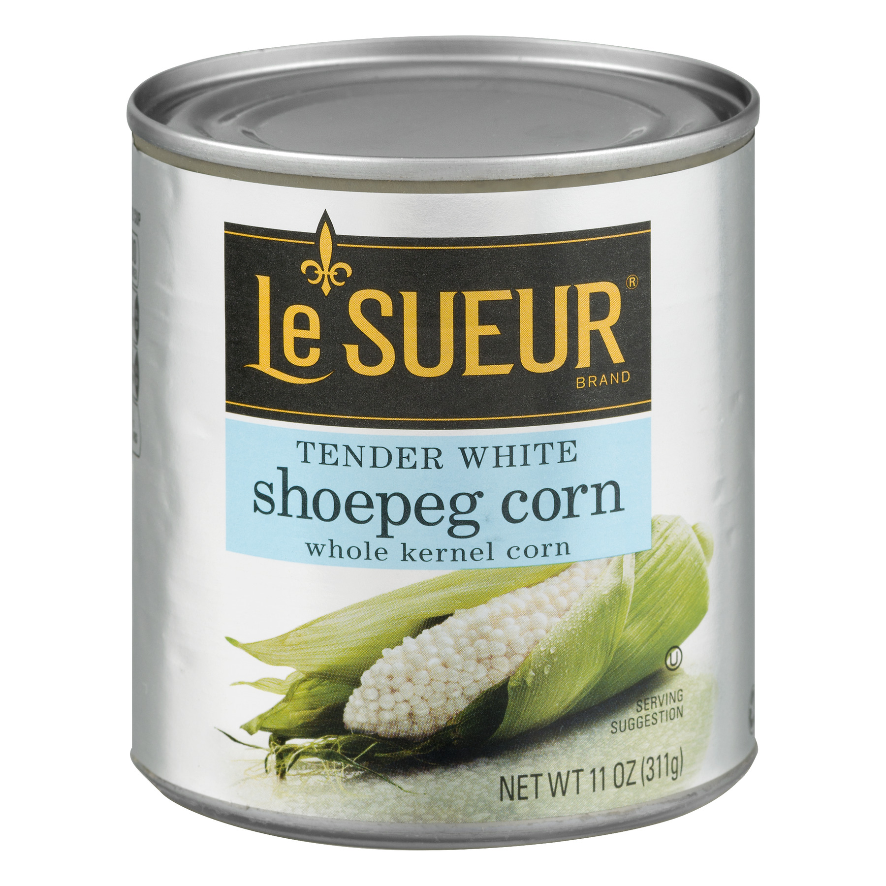 Le Sueur Tender White Shoepeg Corn Whole Kernel Corn, 11.0 OZ