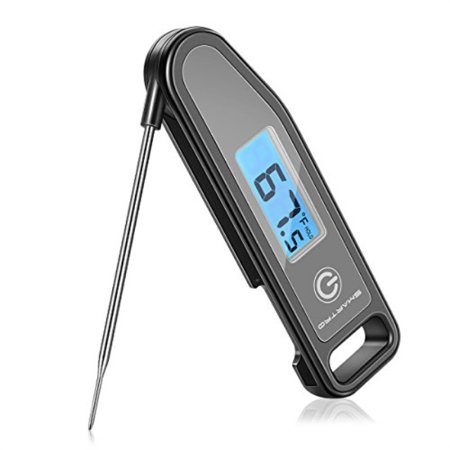 SMARTRO ST43 Meat Thermometer Instant Read Cooking Food Thermometer Digital TouchScreen Thermometer for Candy, BBQ, Kitchen, Gri SMARTRO Meat Thermometer Instant Read Cooking Food Thermometer Digital TouchScreen Thermometer for Candy, BBQ, Kitchen, Grilling, SmokerSKU:ADIB07BQN2KTV