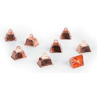 Darice Copper Cowbells for Crafts, 1.25 Inches, 12 Pieces
