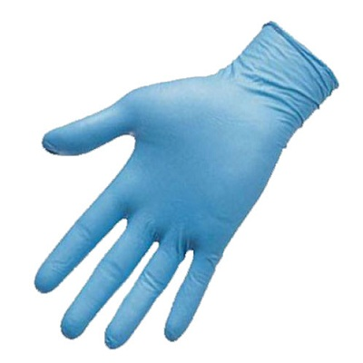 Blue Nitrile Disposable Gloves - Medical Grade Latex & Powder Free, Large, 8 Mil 50 PCS