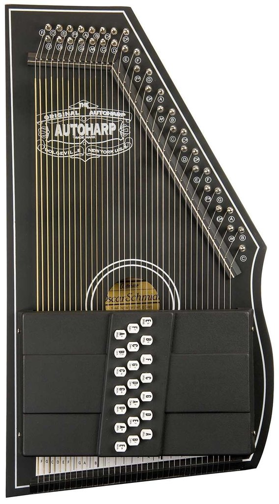 Oscar Schmidt OS73C Autoharp by Oscar Schmidt