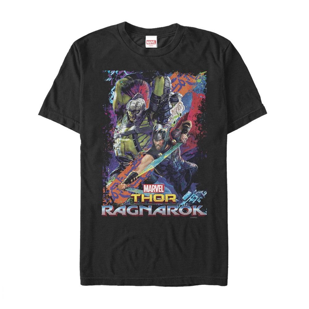 Marvel Men's Thor: Ragnarok Hulk Color Frame T-Shirt