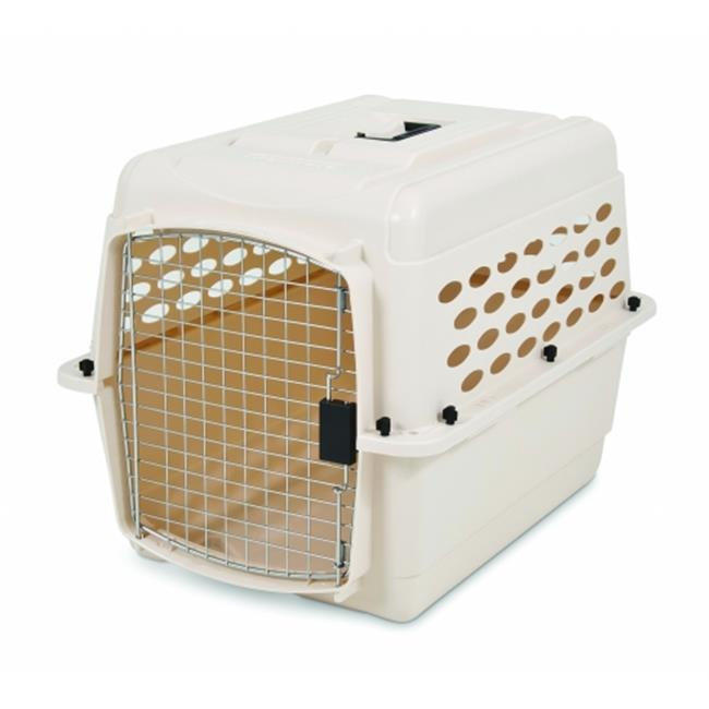 Petmate Vari Kennel Pet Carrier 10-20 Pound Bleached Linen 21863