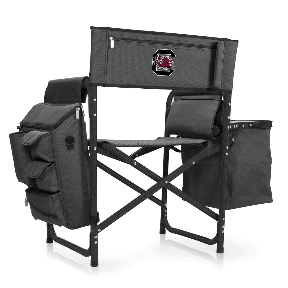 South Carolina Fusion Chair (Dk Grey/Blac)