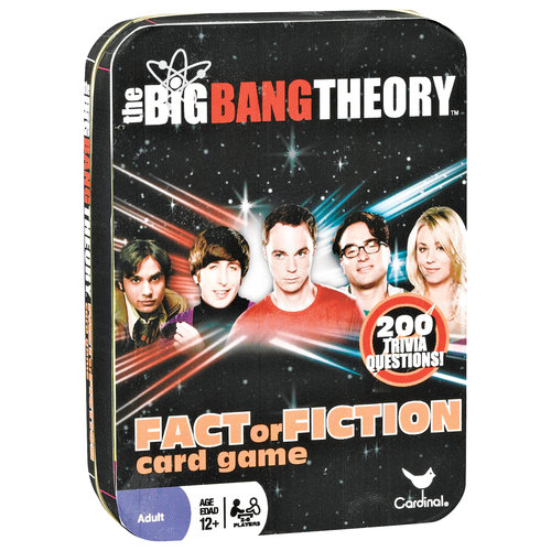 The Big Bang Theory Fact of Fiction Card Game