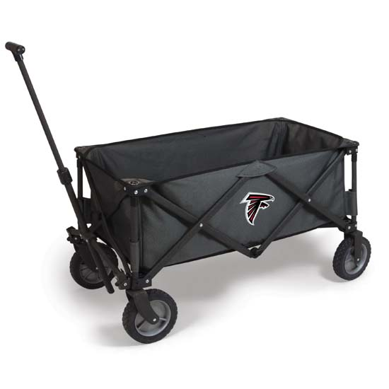 Picnic Time NFL Adventure Wagon - Dark Gray/Black