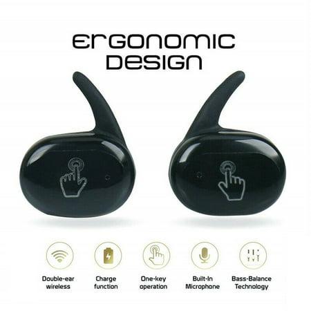 Y30 Wireless Headset Sports Outdoor Headset 5.0 Binaural Stereo Mini Headset - image 3 of 5