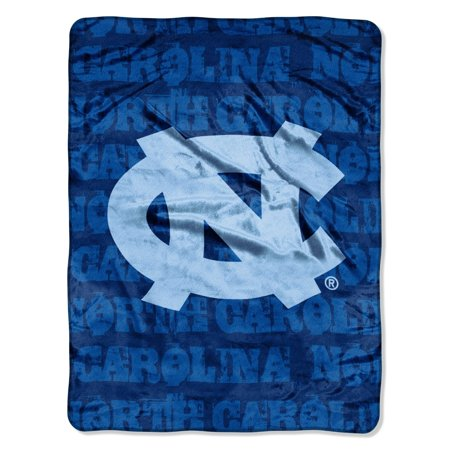North Carolina Tar Heels Plush (North Carolina Tar Heels 46x60 Grunge Design Micro Raschel Plush)