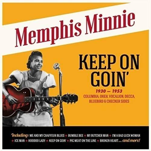Keep On Goin (Columbia Okeh Vocalion Decca Bluebird & Checker Sides) (Vinyl)