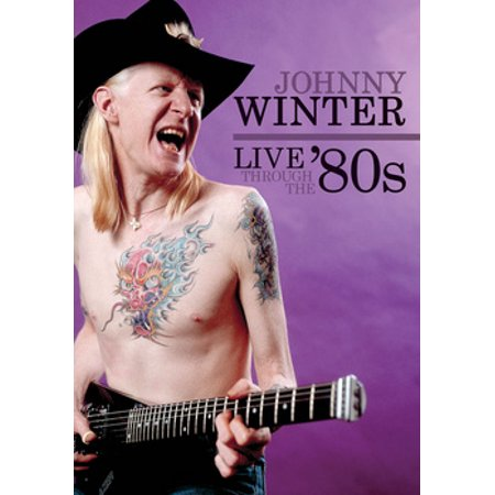 Johnny Winter: Live Through the '80s (DVD) for $<!---->