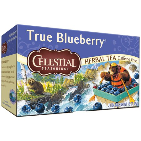 Celestial Seasonings ® True Blueberry ® Herbal Tea Bags 20 ct Box