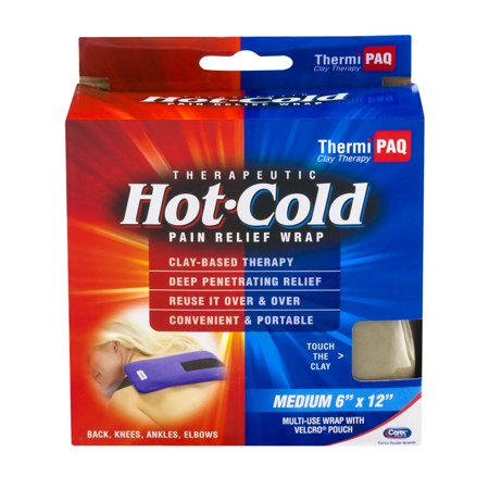 Thermipaq Therapeutic Hot Cold Pain Relief Wrap Medium 6X12  1 0 Ct