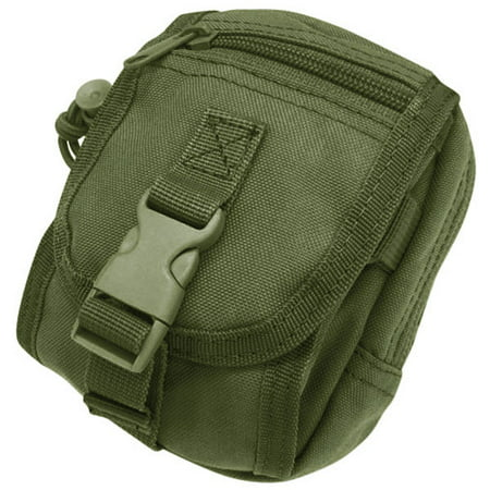 Gadgets Cell - Condor MA26 Tactical Gadget MOLLE Pouch for GPS Cell Phone Radio - OD Green