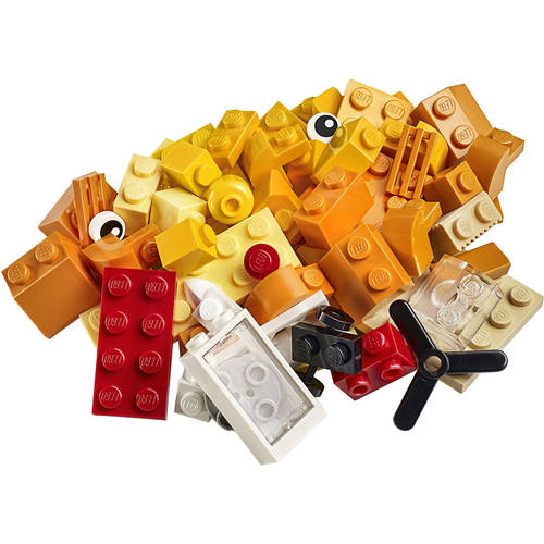 Lego Set 10709 Classic Orange Creativity Box