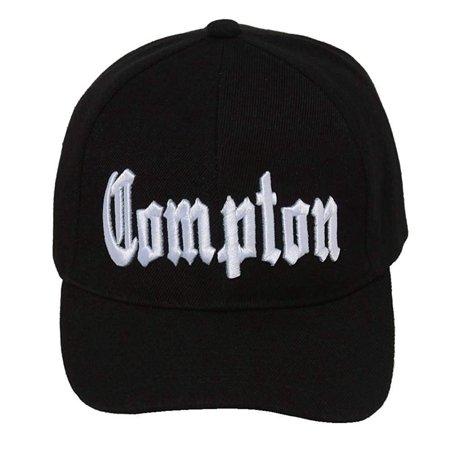 City Compton Easy E Hat Cap - Black, Compton Hat By