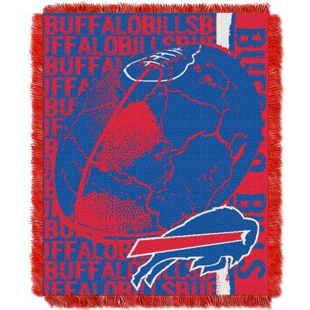 Northwest Nfl Buffalo (Buffalo Bills The Northwest Company 46'' x 60'' Double Play Jacquard Throw - No Size)