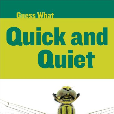 Guess What: Quick and Quiet: Dragonfly (Hardcover)