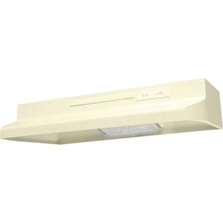 Air King Advantage AV AV1305 Under Cabinet Convertible Range Hood, 180 cfm, 3-1/4 X 10 in, - Almond Advantage Under Cabinet Hood