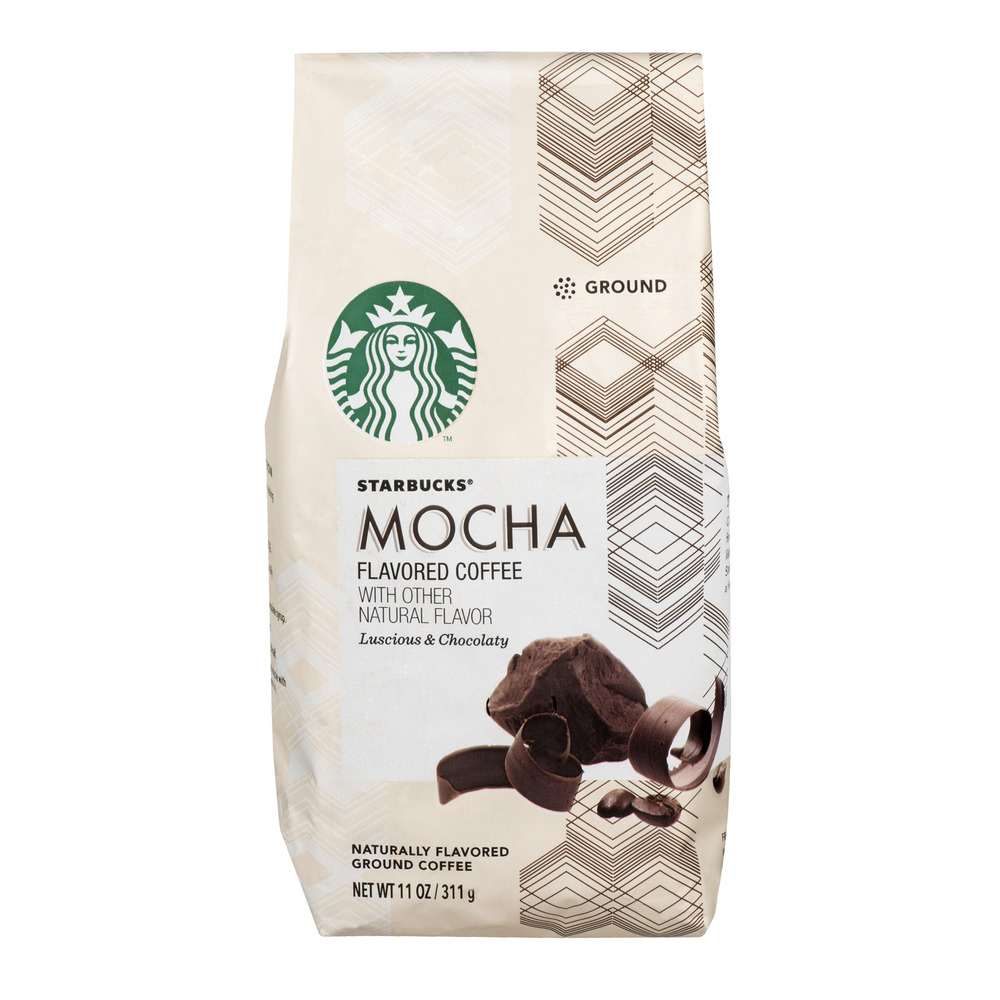 Starbucks Flavored Ground Coffee Mocha, 11.0 OZ