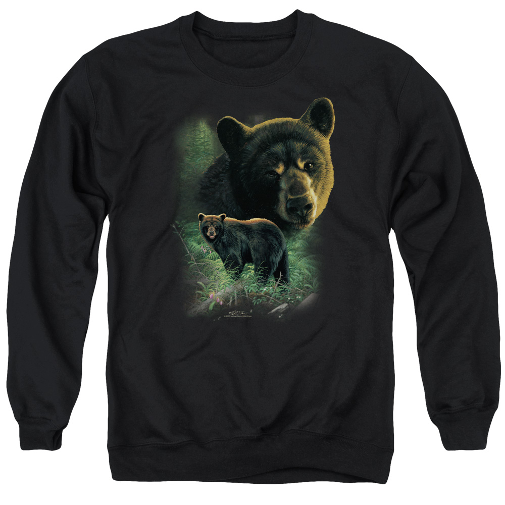 Black bear adult sweatshirt join. All