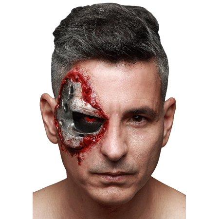 Terminator Endoskull Latex Appliance (Terminator Makeup Halloween)