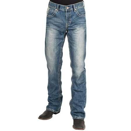 Stetson Western Denim Jeans Mens 1014 Fit Light 11-004-1014-4016 BU
