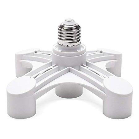 Light Socket Switch Convert Into Multiple Bulb