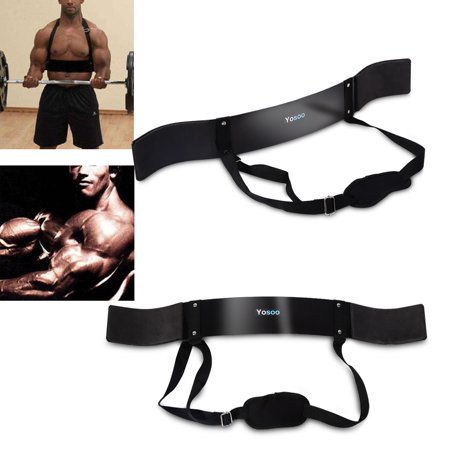 Heavy Duty Arm Blaster Body Building Bomber Bicep Curl Triceps Muscle