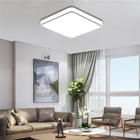 24W 30*30cm LED Flush Mount Ceiling Light Fixtures Clearance for Home Kitchen Bathroom Bedroom Living Room (Room Flush Mount Ceiling Fixtures)