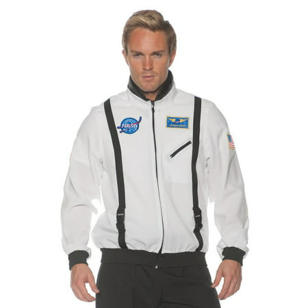 White Space Jacket Men's Adult Halloween Costume](Lloyd In Space Halloween)