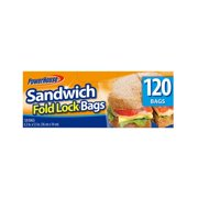 Delta Brands, Inc. 120CT Fold Sandwich Bag 24 Pack