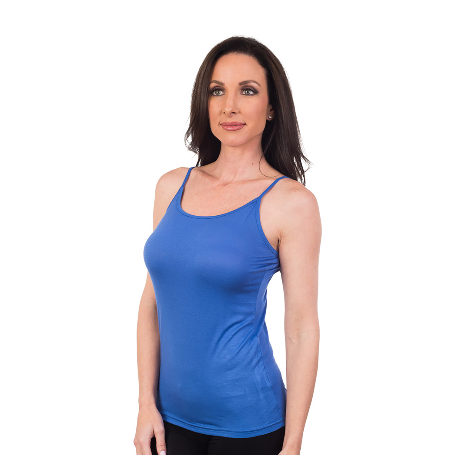 Women's Agiato Basic Camisole Blue XXLarge