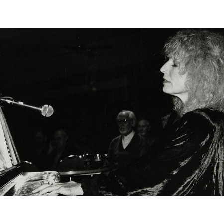 Pianist and Singer Ellyn Rucker Performing at the Fairway, Welwyn Garden City, Hertfordshire, 1992 Print Wall Art By Denis Williams](Hayley Williams Singer)