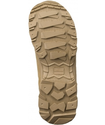 Altama Mens Foxhound SR 8in Leather Boot,Size W9.5,Tan 365802-W09.5/EU42.5