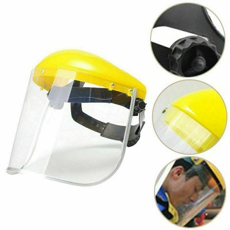 Grinding Shield - TURNTABLE LAB Protective Mask Clear Head-mounted Face Eye Shield Screen Grinding Faddish