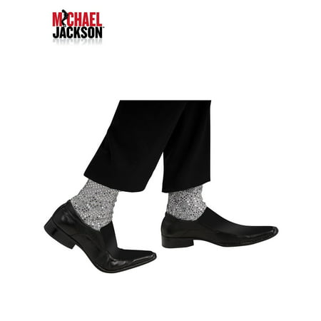 Michael Jackson Glitter Socks Adult